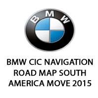 ROAD MAP SOUTH AMERICA MOVE 2015