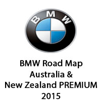 BMW Road Map Australia & New Zealand PREMIUM 2015