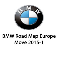 BMW Road Map Europe Move 2015-1