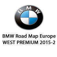BMW Road Map Europe WEST PREMIUM 2015-2