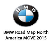 BMW Road Map North America MOVE 2015