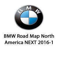 road map europe route 2015 BMW Road Map North America NEXT 2016 1 | BMW Navigation Maps