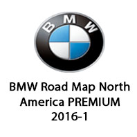BMW Road Map North America PREMIUM 2016-1