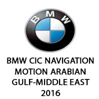 BMW CIC Middle East/Arabian Gulf MOTION Road Map 2016