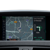 How to update BMW digital road map Motion