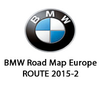 road map europe route 2015 BMW Road Map Europe ROUTE 2015 2 | BMW Navigation Maps